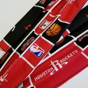 2 Houston Rockets facemask